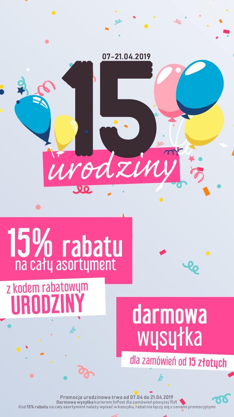 Kosmetyki, perfumy -15% taniej i wysyłka 0zl (mwz 15zl) darmarsklep.pl