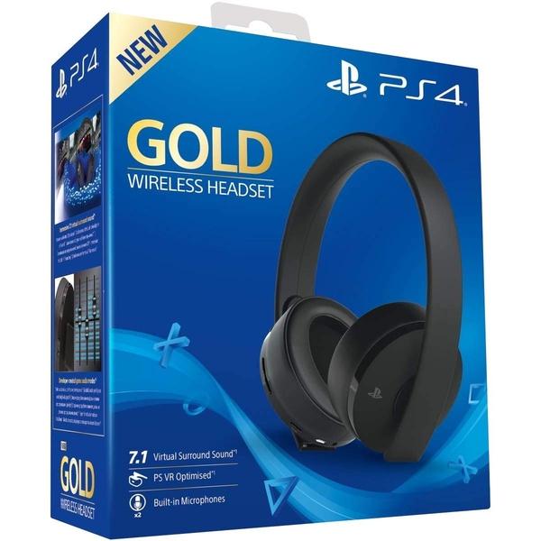Bezprzewodowy headset Sony Gold (Playstation 4) za ~264zł z wysyłką @ 365Games
