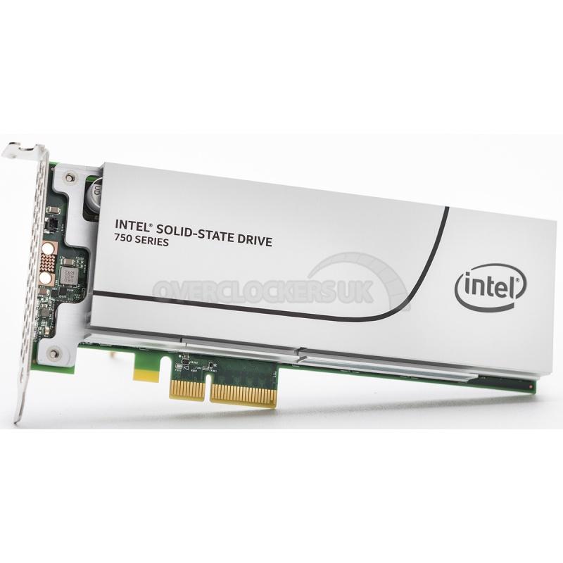 Dysk SSD Intel 750 800GB PCIe 3.0 (odczyt 2100MB/s!) @ Overclockers