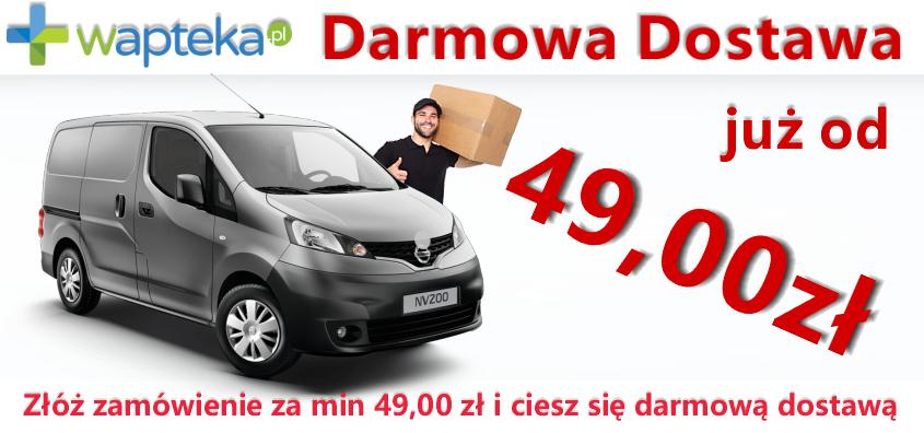 Darmowa dostawa od 49zł na wapteka.pl