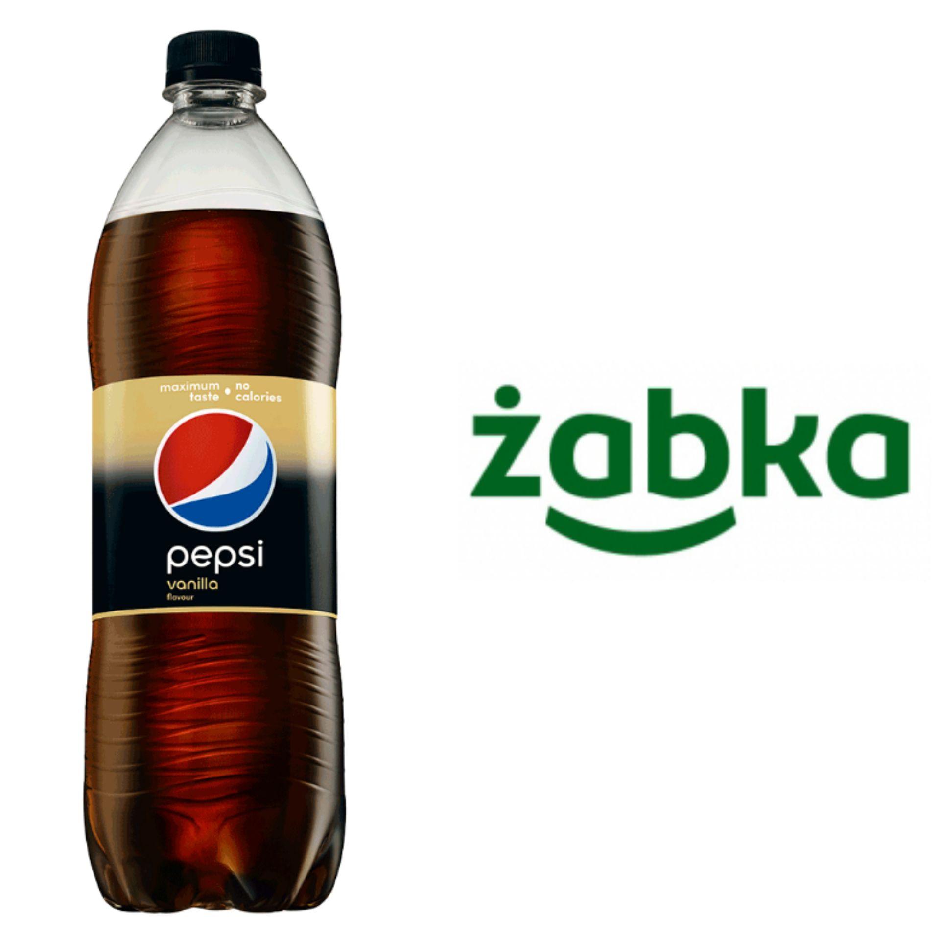 Pepsi Vanilla 2,79zł/l przy zakupie dwóch sztuk @ Żabka