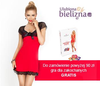 Gra erotyczne memory prz zakupach za 90zł i dostawa gratis @ UlubionaBielizna
