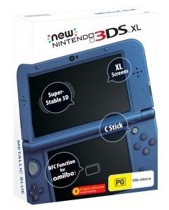 New 3DS XL Metallic Blue w dobrej cenie 799zł