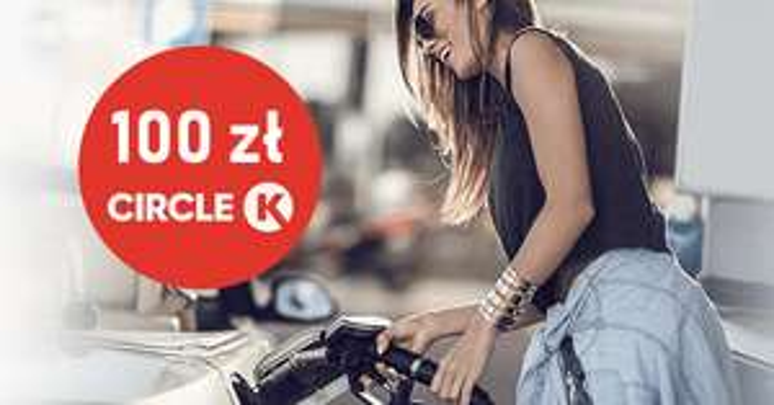 100 zł na Circle K do karty kredytowej Getin Bank