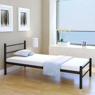 Rama łóżka metalowa 90x200 (INNE WYMIARY TEZ)