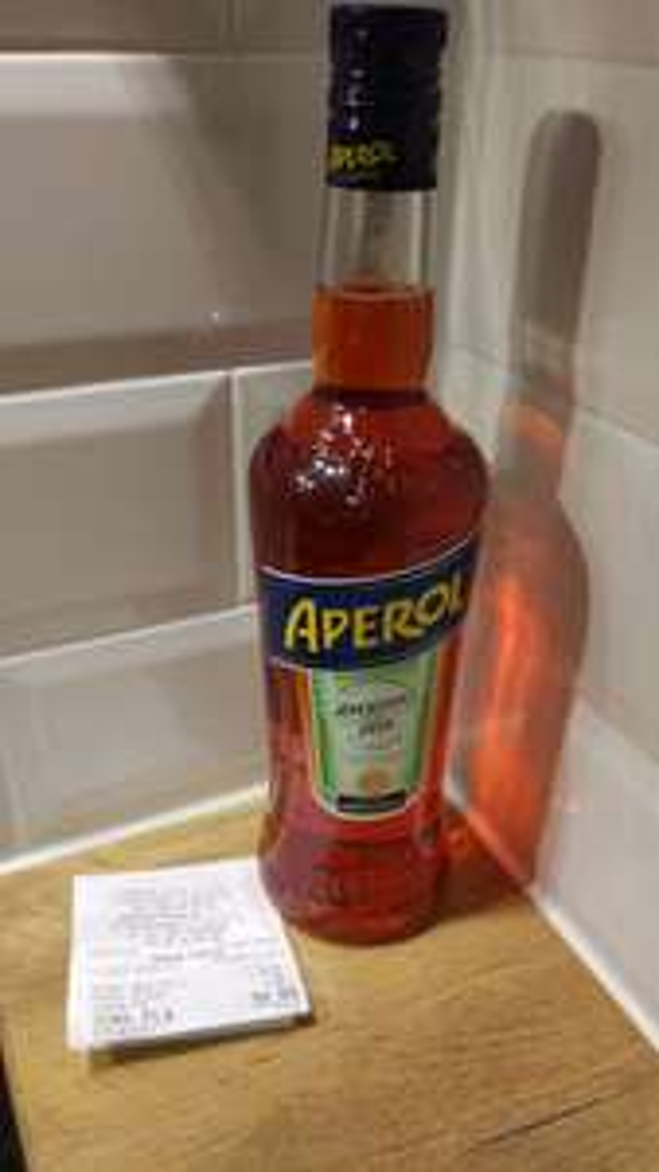 Aperol 0,7l w Carrefour