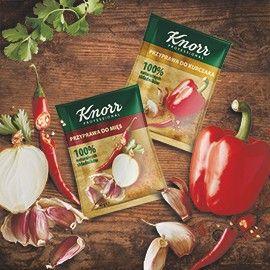 Dla firm Zamów darmową próbkę przypraw Knorr Professional