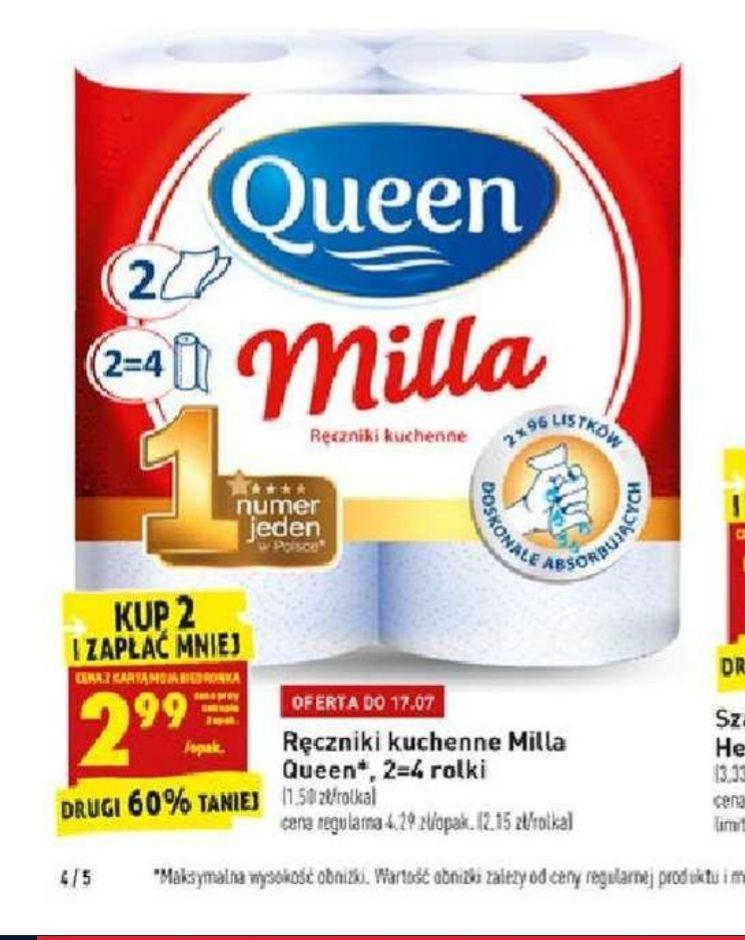 Ręcznik kuchenny Queen Milla. 2,99 zł/szt. przy zakupie 2 szt. - Biedronka
