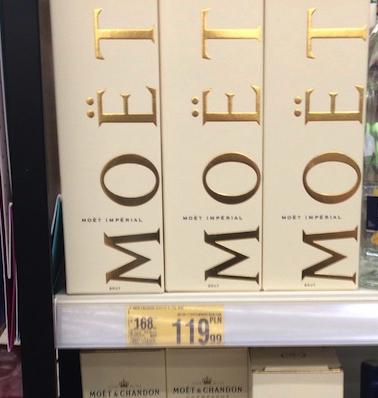 MOET & CHANDON Imperial Brut szampan w kartonie - Auchan 119,99 zł