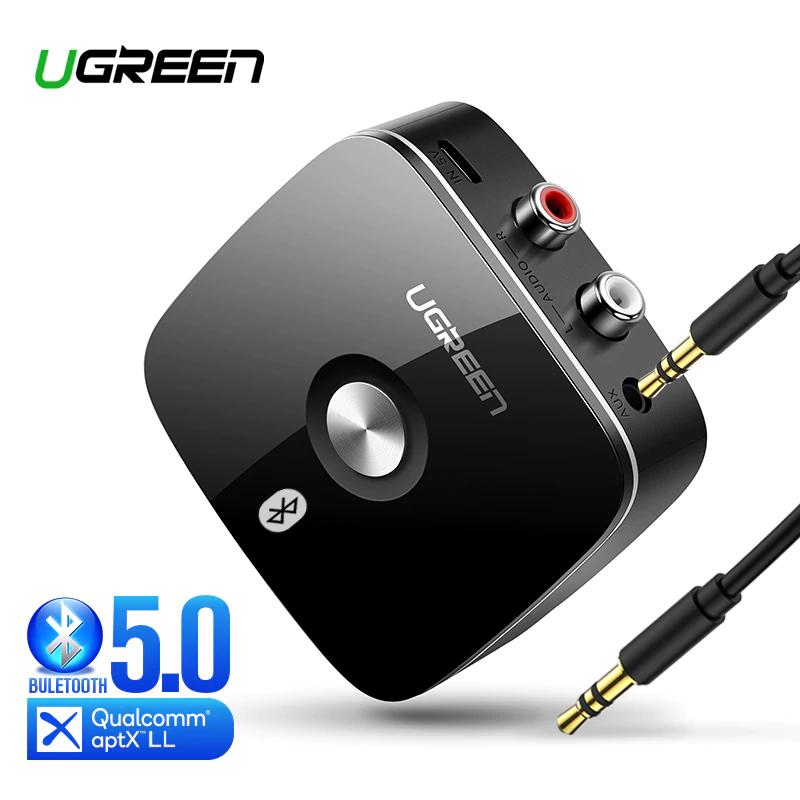 Adapter Bluetooth RCA Ugreen (Bluetooth 5.0, aptx, aux) @ AliExpress