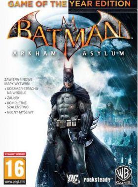 Batman Arkham Asylum GOTY DIGITAL PC/Steam