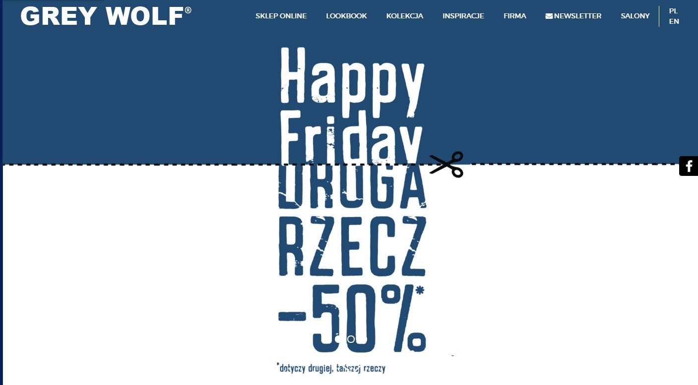 Happy Friday w Grey Wolf