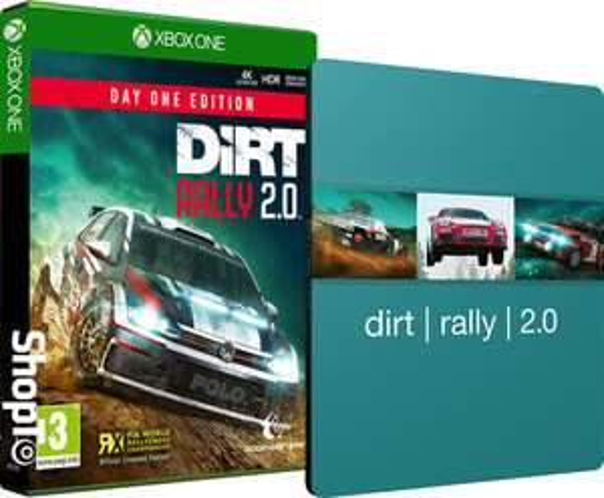 DiRT Rally 2.0 PS4/XOne ze steelbookiem na shopto