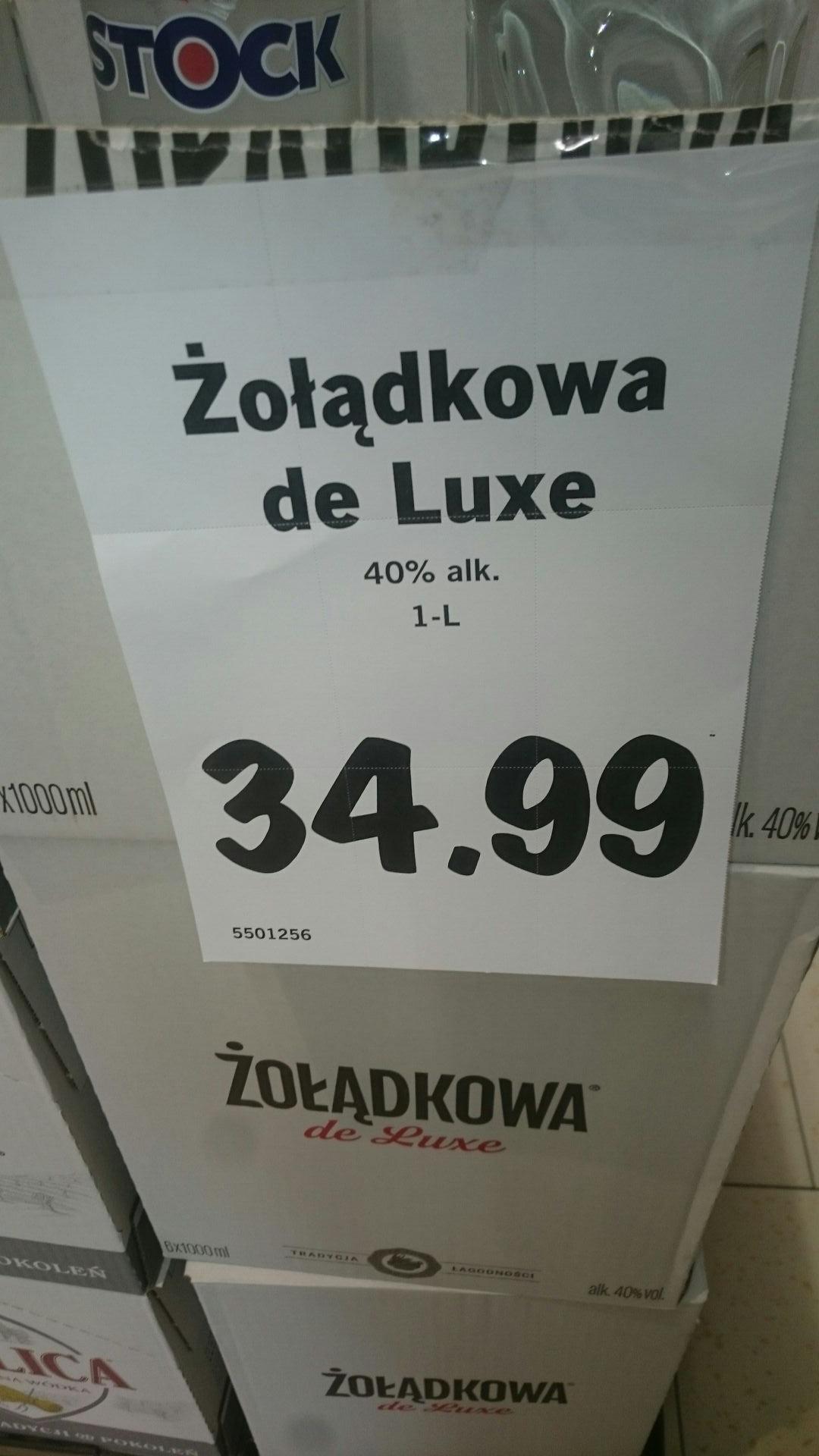 Żołądkowa De Lux- nie gorzka- na zimno słodka ;) 1l Lidl