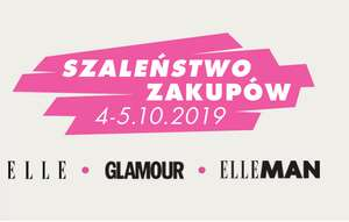 Szaleństwo zakupów z magazynami Elle, Glamour - 4-5 października