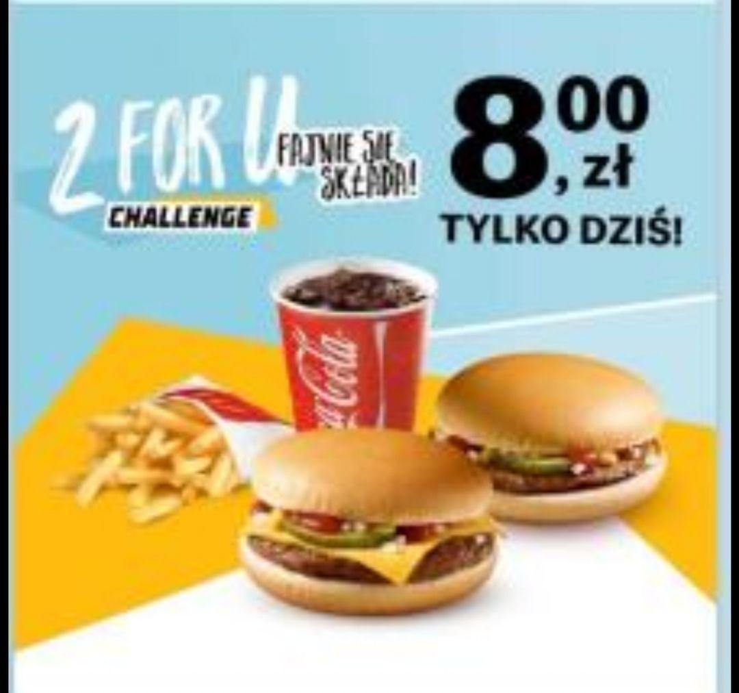 2 x 2 for you Mc Donalds McDonald's kupon