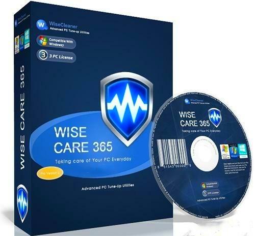 Wise Care 365 Pro 5.4.4 - Stabilność, bezpieczeństwo i przyspieszenie komputera.
