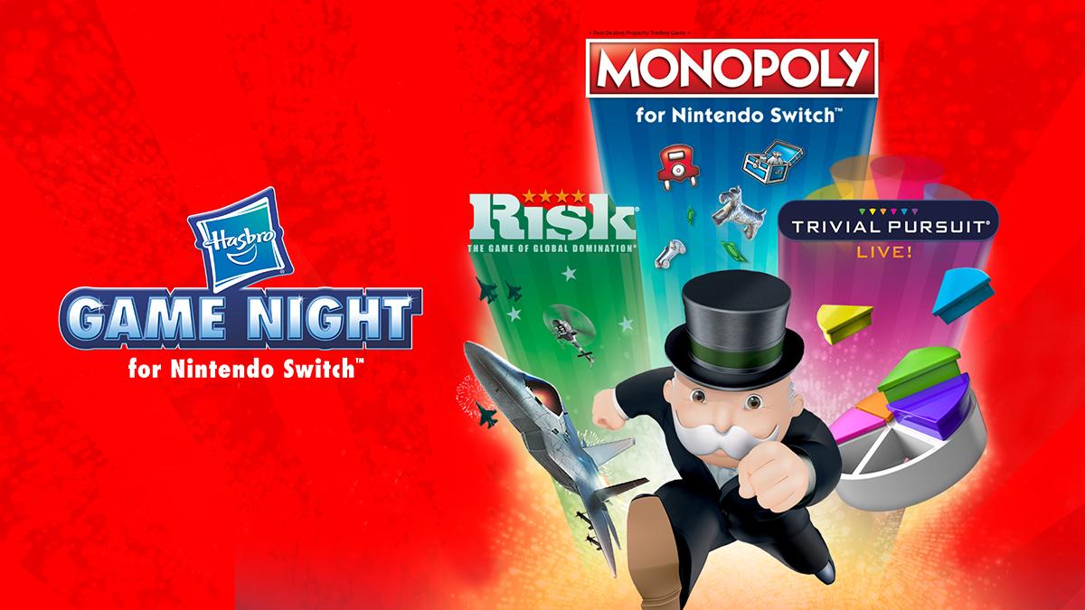 Nintendo Switch - Monopoly + Risk + Trival Pursuit - wersja pudełkowa - exgames