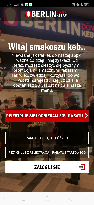 Berlin Doner Kebap rabacik -20% na cale zamowienie