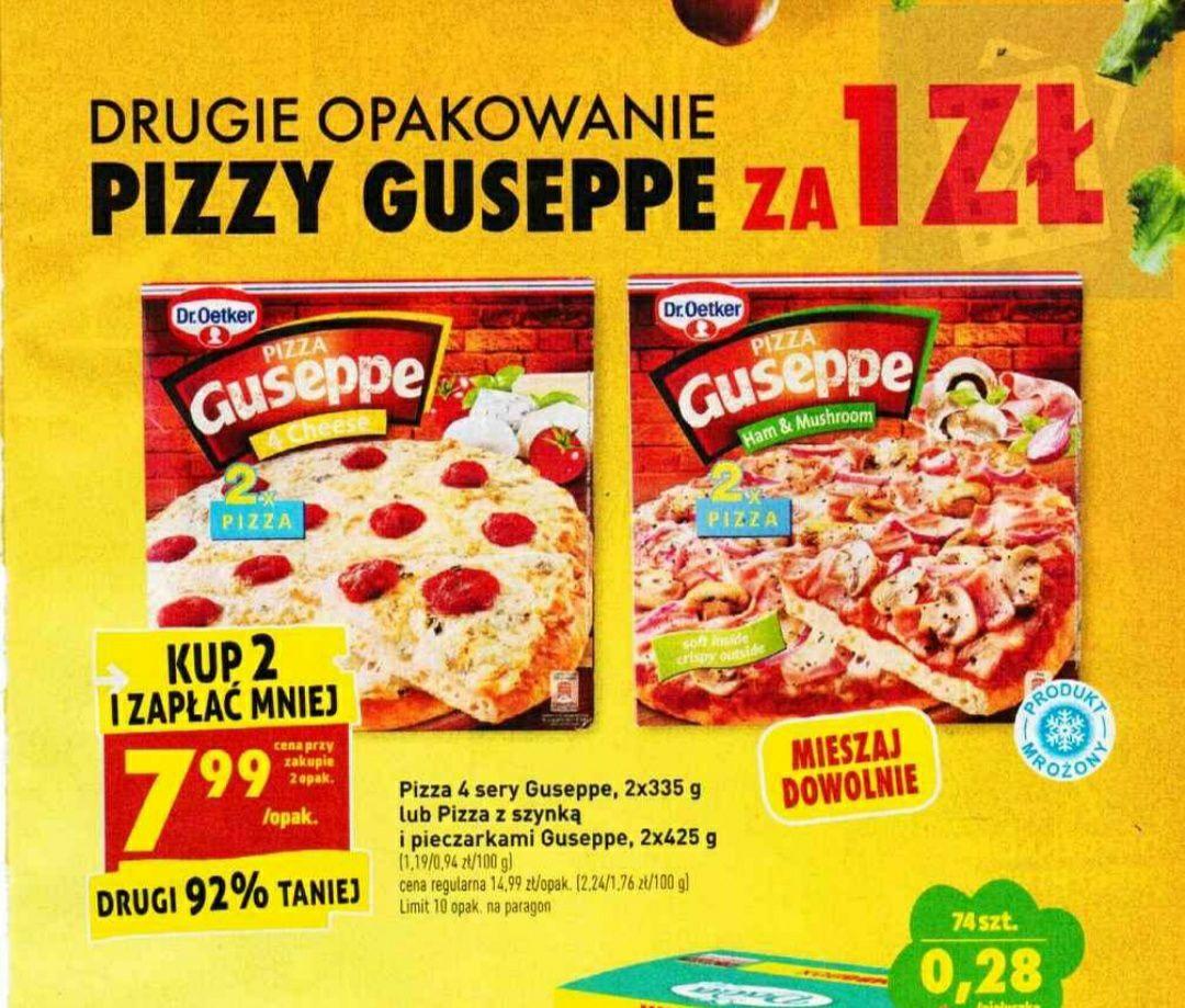 Pizza guseppe drugie opakowanie za 1 zł Biedronka