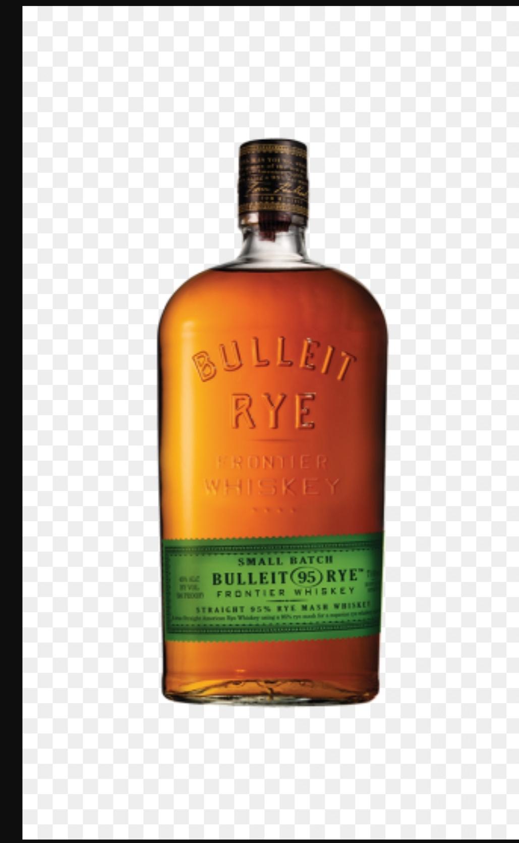 Whiskey Bulleit Rye 0,7l. Żytnia amerkańska whiskey.