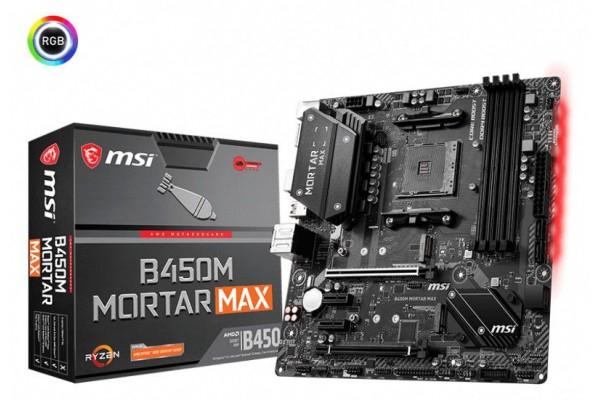 Płyta główna MSI B450M MORTAR MAX AM4