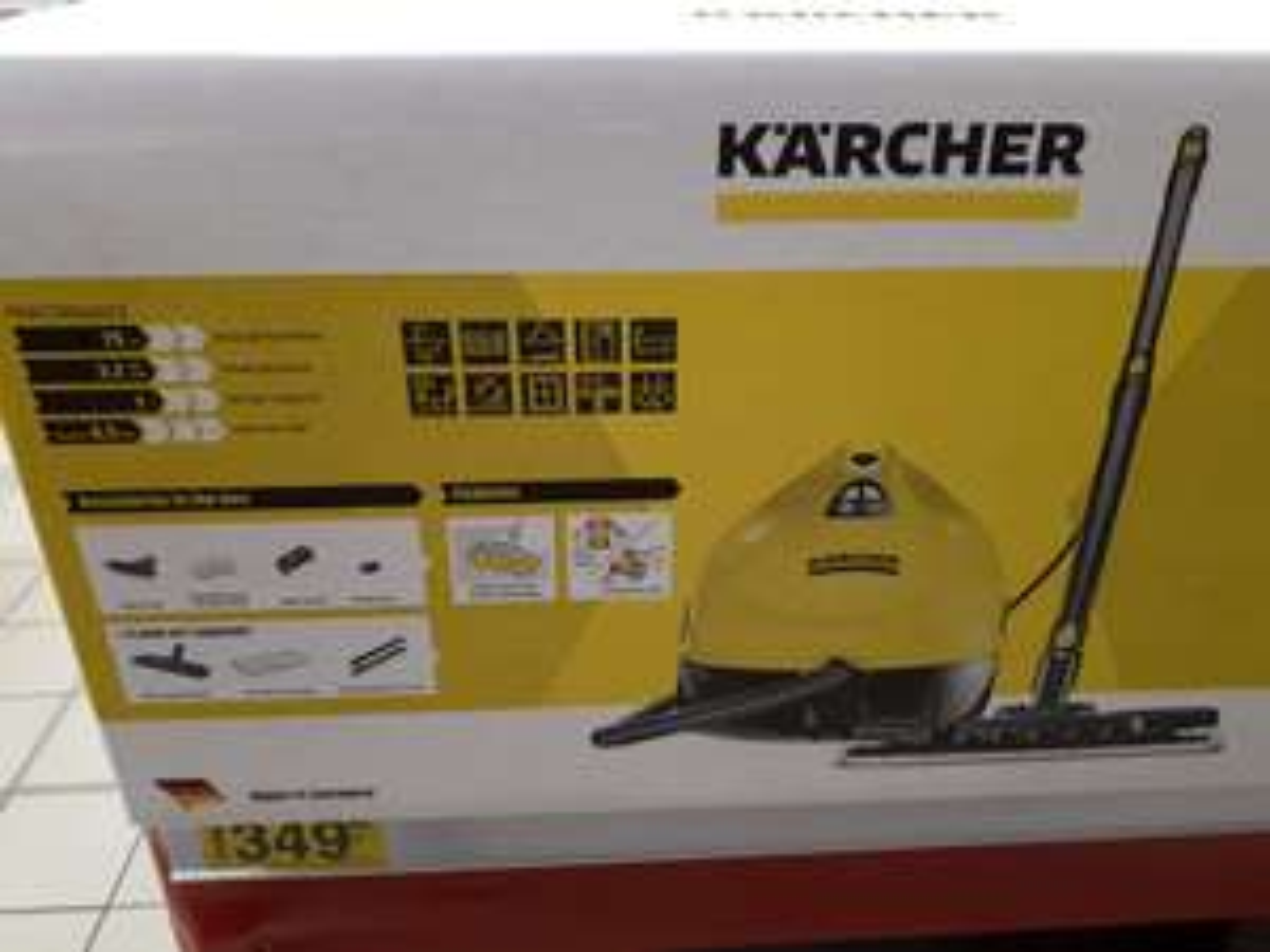 Parownica Karcher KST 2 - Carefour