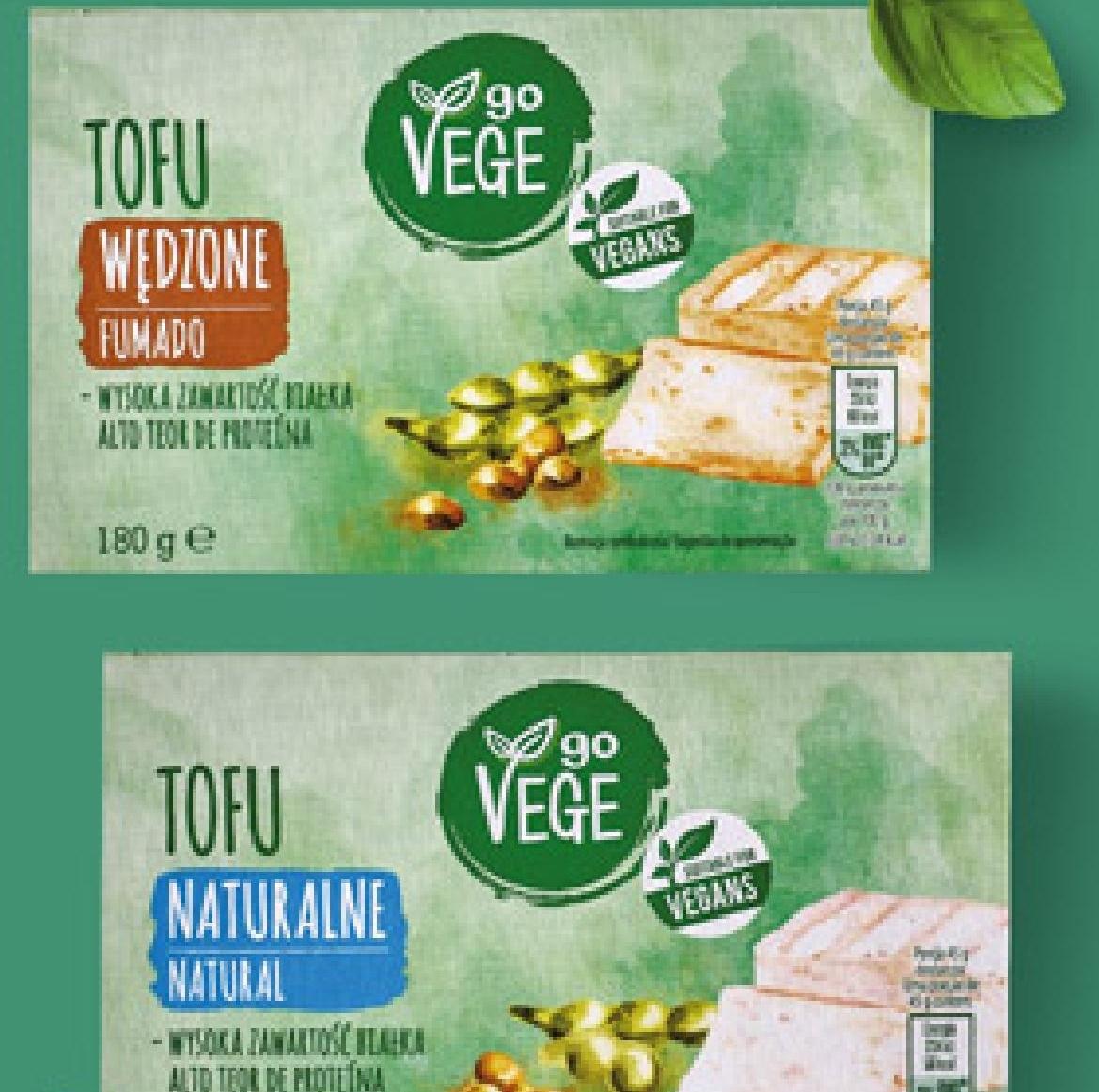Go Vege! Tofu 180g. Biedronka