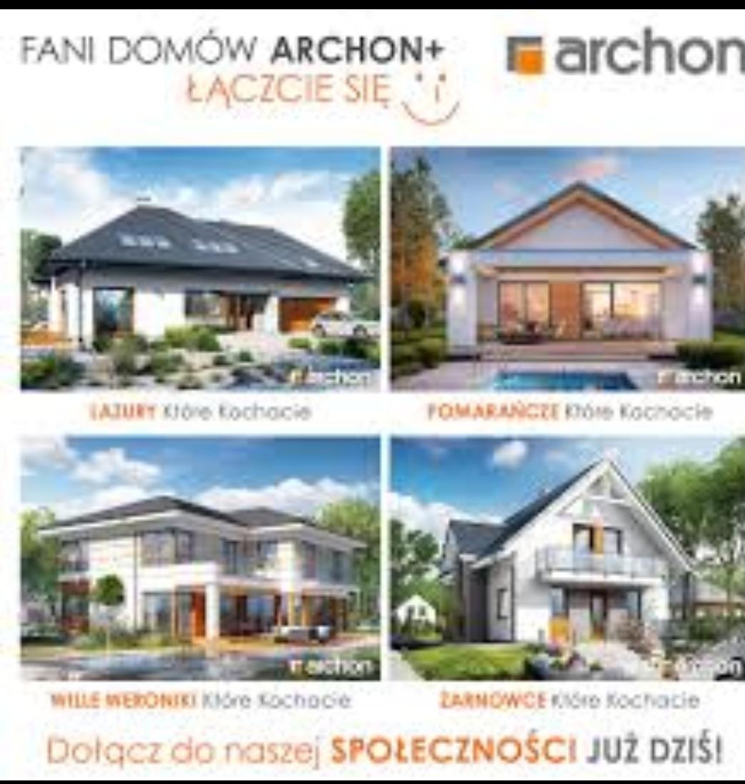 Bezpłatny Katalog z projektami Archon+ Darmowa Wysyłka