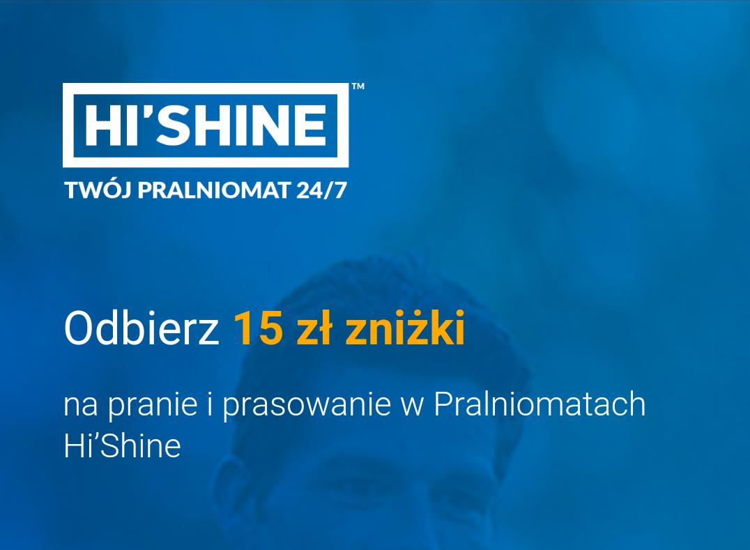 15 zł na pranie od Decathlonu @ Pralniomaty Hi'Shine