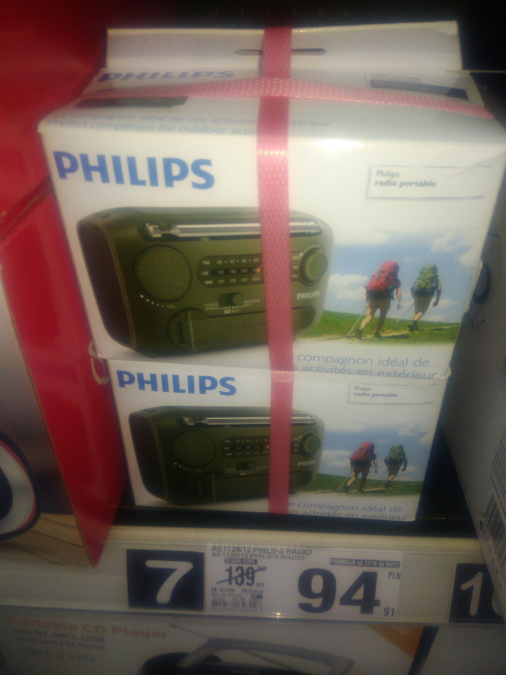 Przenośne radio Philips AE1125/12 - B1 Wałbrzych