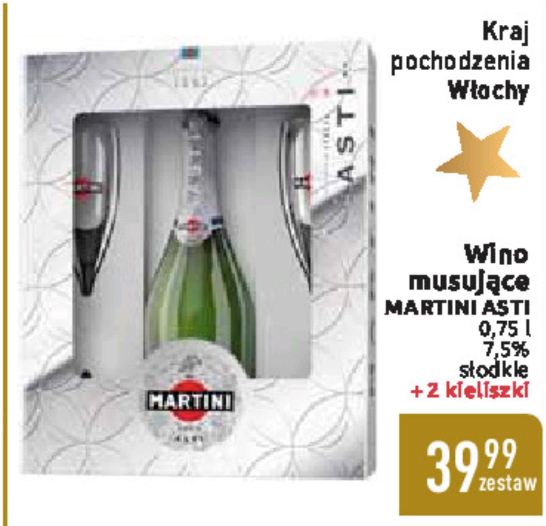 Martini Asti + 2 kieliszki @Carrefour