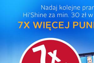 7x więcej punktów PAYBACK za KOLEJNE pranie @Hi'Shine