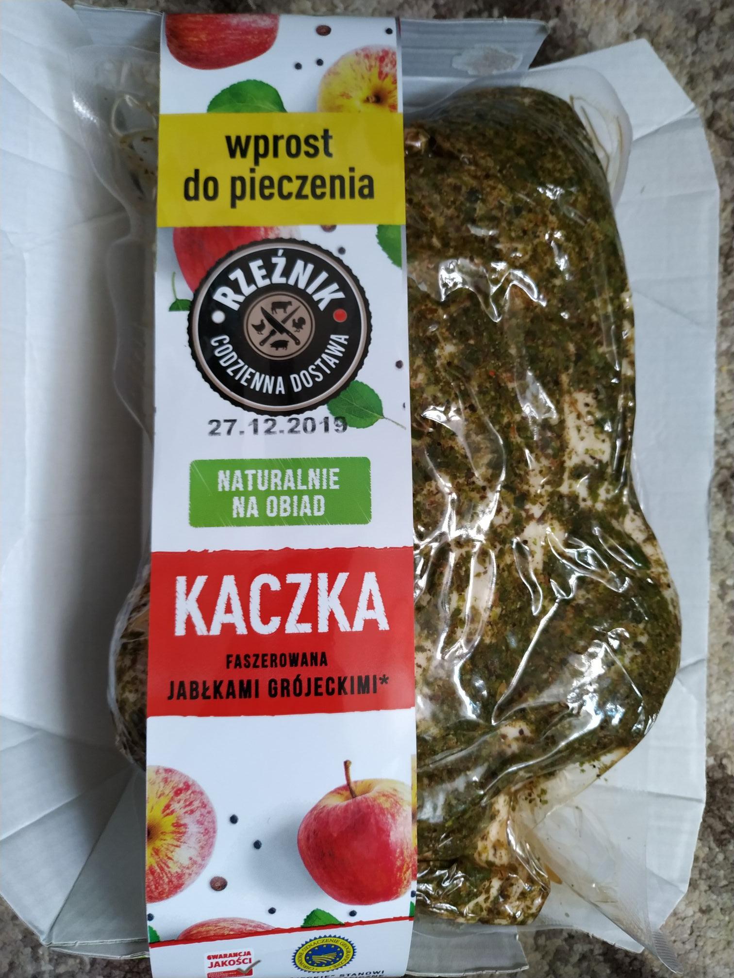 Kaczka faszerowana jabłkami Grójeckim 5,99 zł - LIDL