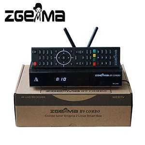 Tuner satelitarny ZGEMMA H9 COMBO 4K 1xS2X+1xT2/C ENIGMA LINUX