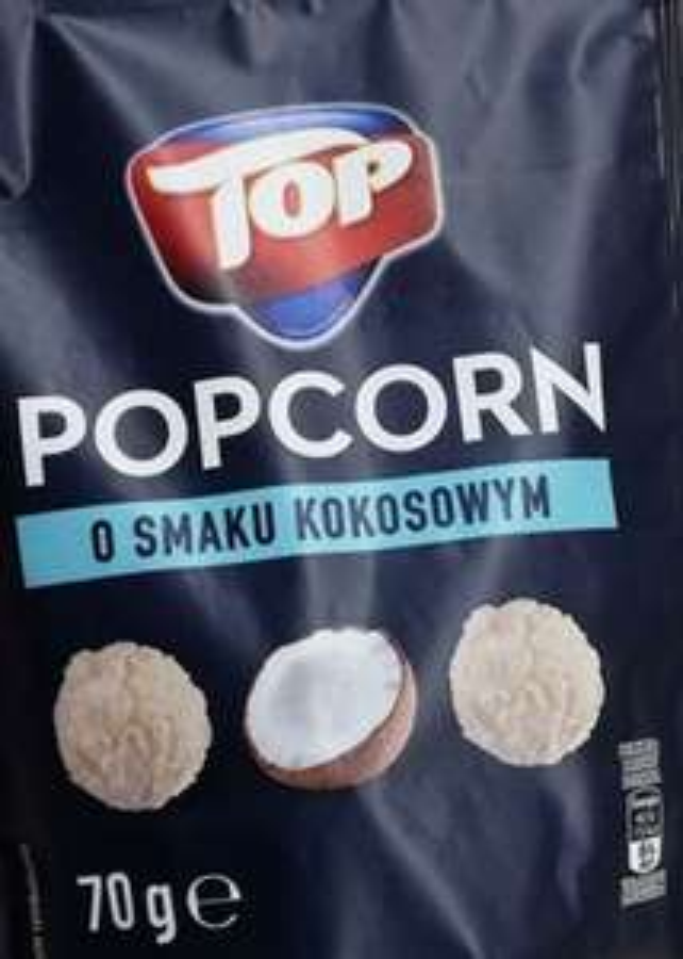 Popcorn kokosowy Biedronka 70 g