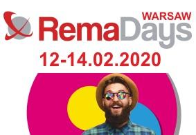 Patent na darmową wejściówkę na targi Rema Days