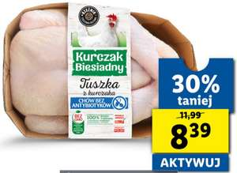 Kurczak Biesiadny bez GMO i antybiotyków @ Lidl