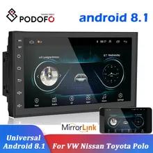 Podofo Radio Samochodowe Andriod go 8.1 GPS 2DIN 7cali