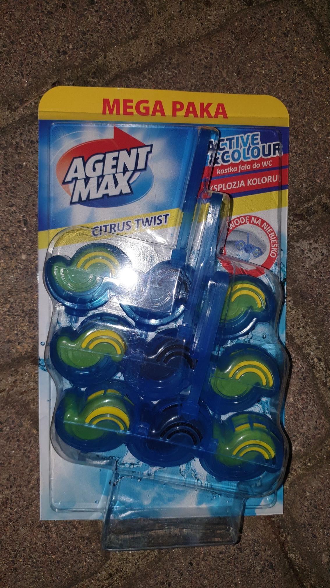 Kostka WC Agent Max 3 szt. Biedronka