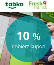 Kod -10% do Żabki i Fresh Market