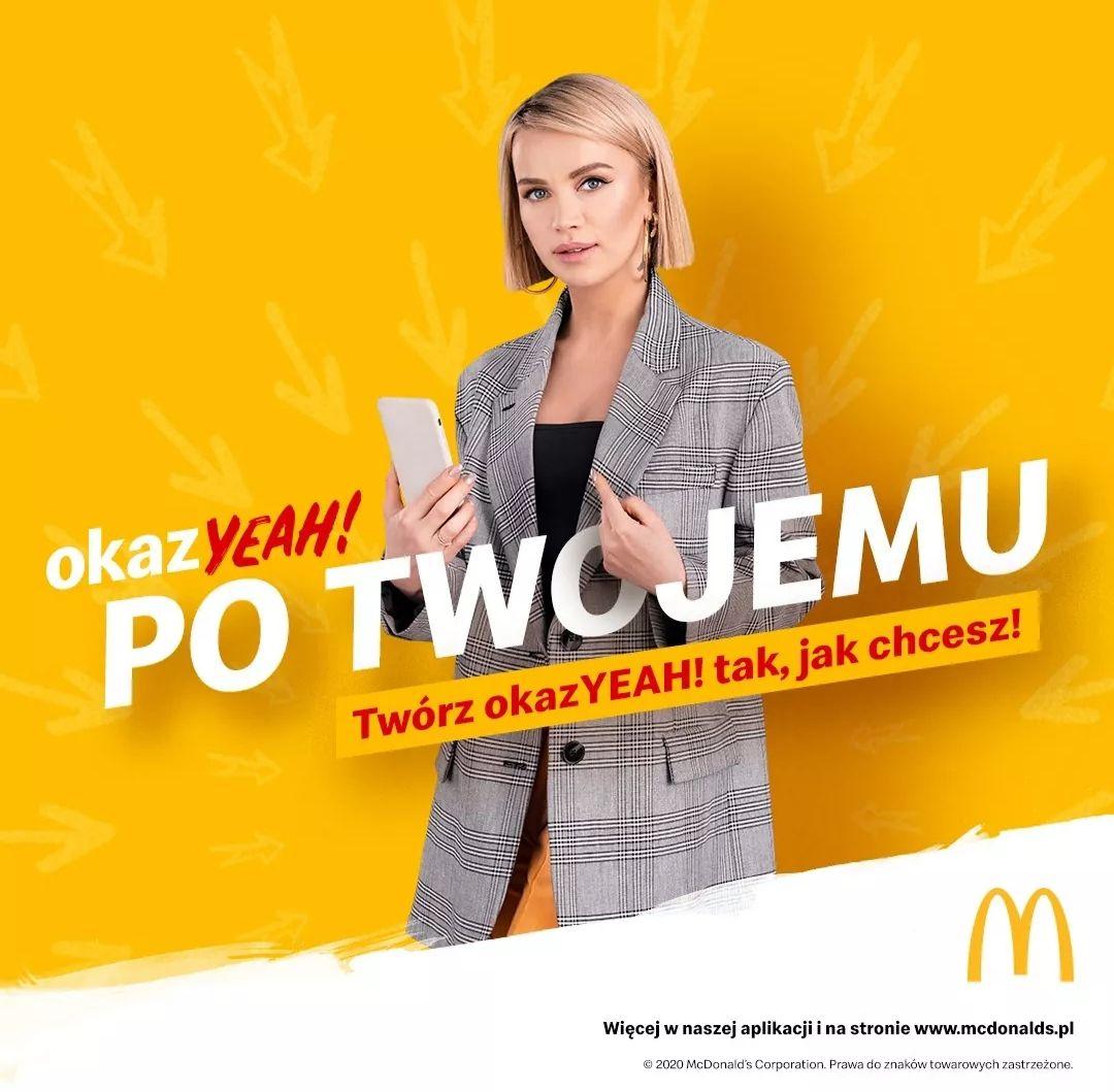 Twórz własne kupony w aplikacji - McDonald's