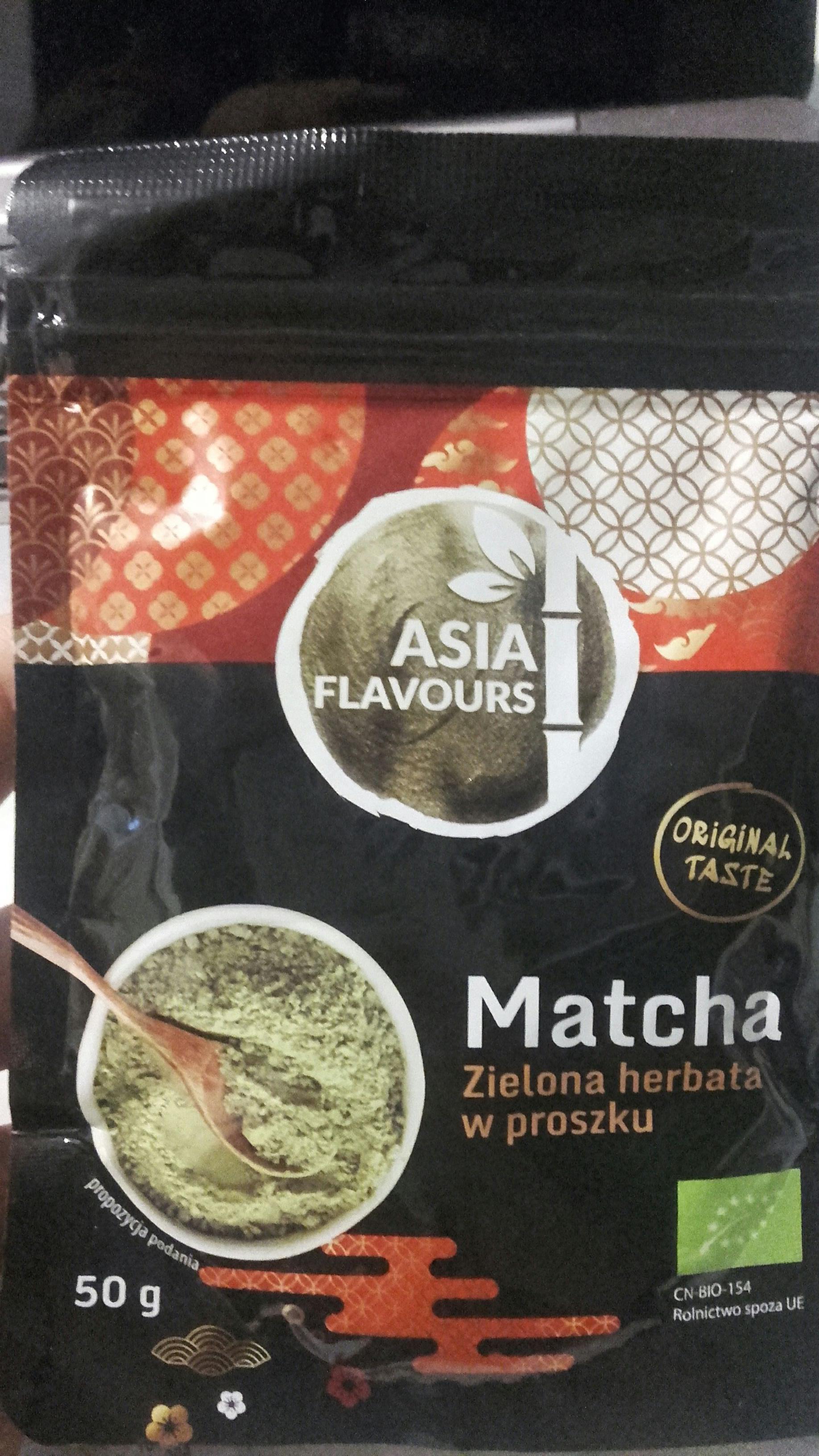 Zielona herbata w proszku BIO. Biedronka