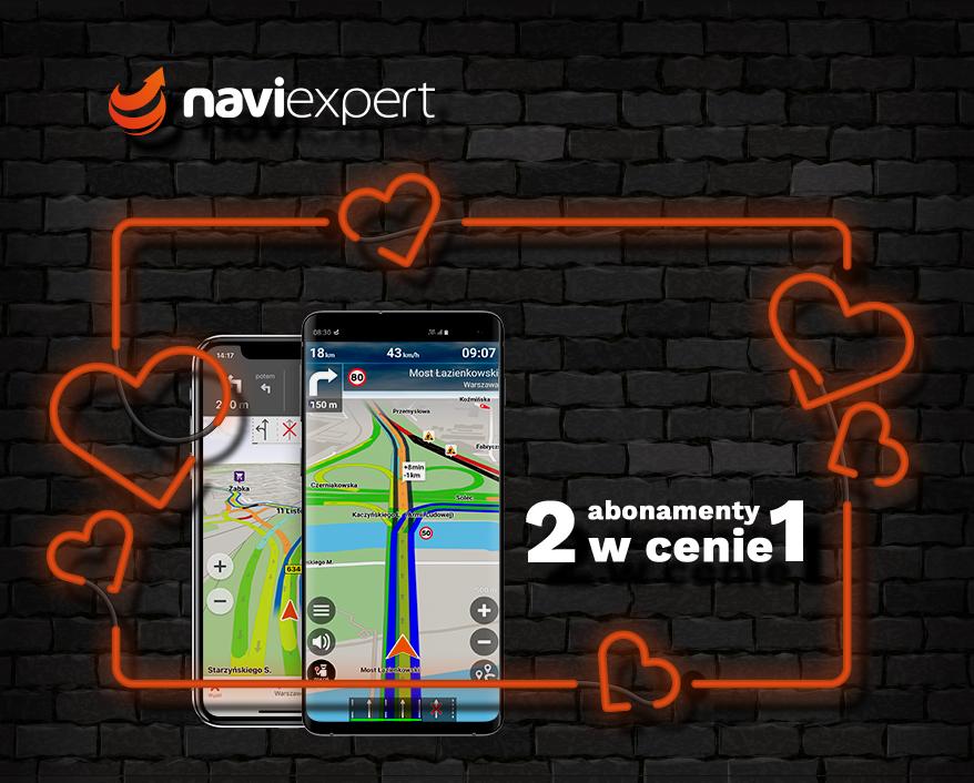 NaviExpert 2 w cenie 1