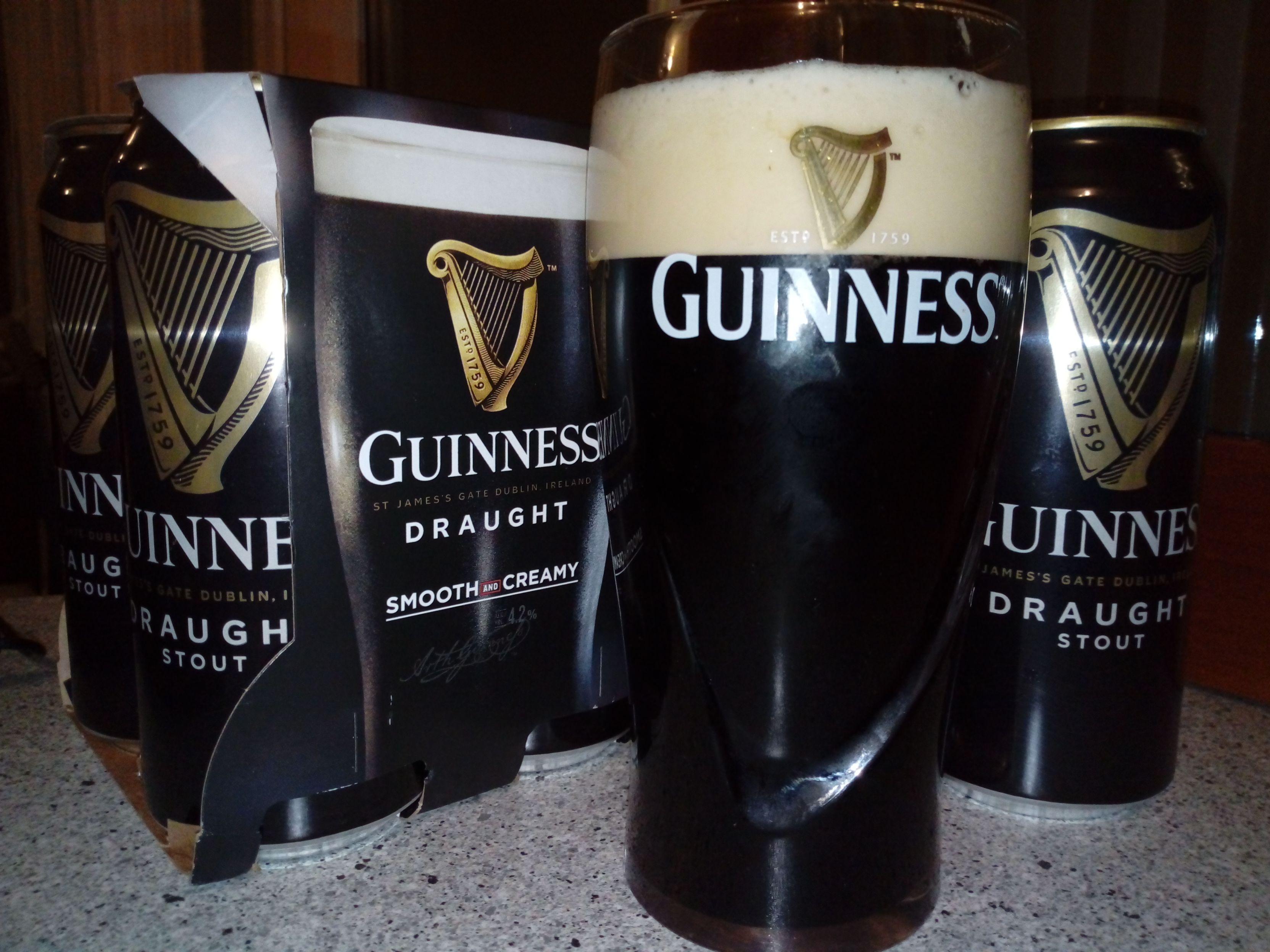 Piwo Guinness Draught 440 ml - Groszek Katowice