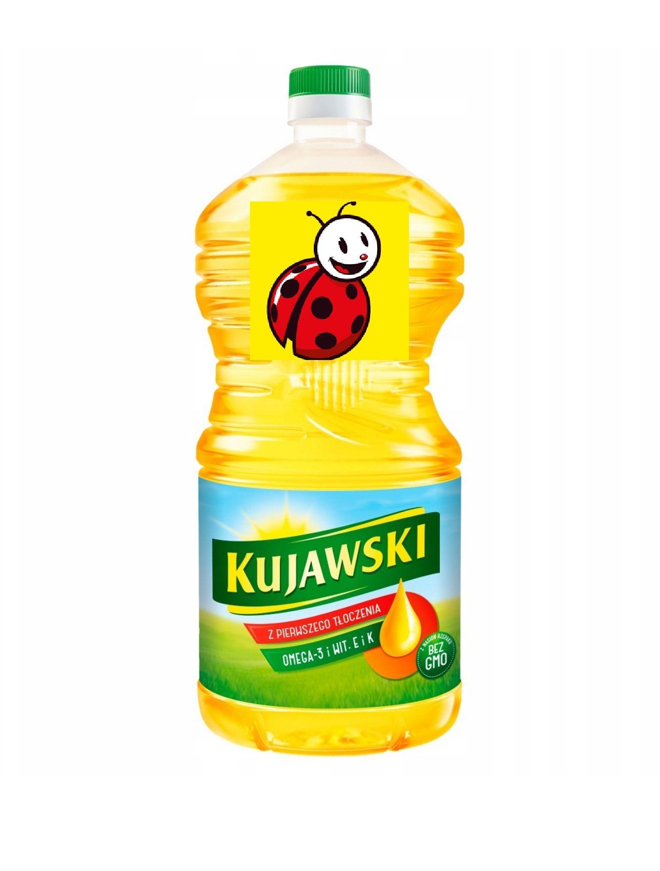 Biedronka olej Kujawski 2L