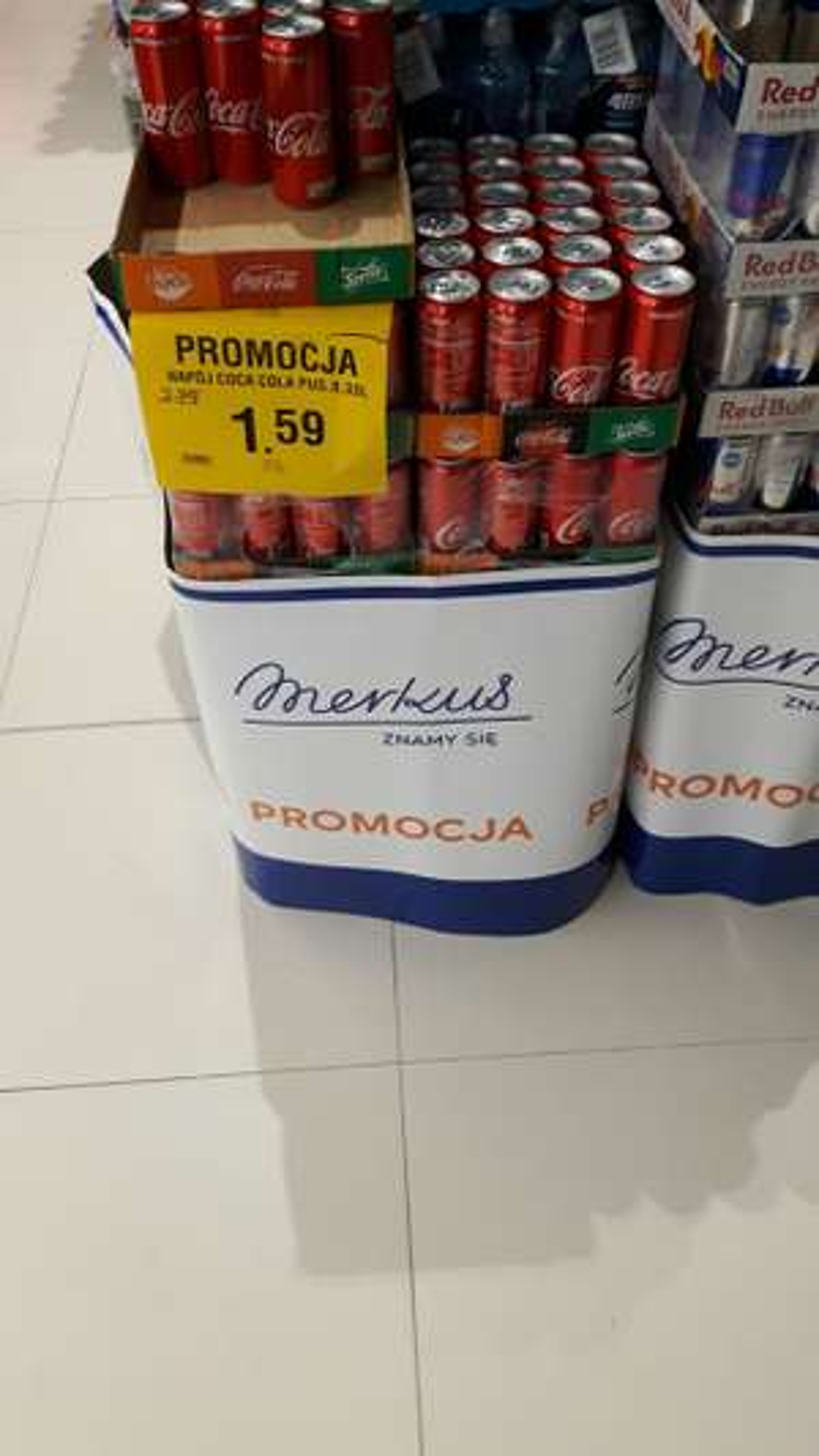 Coca cola puszka 0.33l