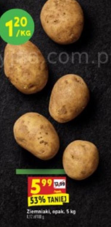 BIEDRONKA: Ziemniaki 5 kg