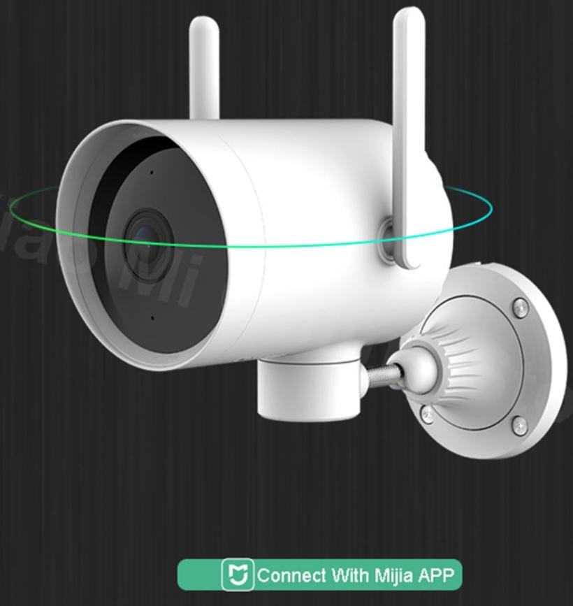 Kamera zewnętrzna Xiaomi Imilab N2 1080p Wi-Fi + LAN wysyłka z PL (obrotowa + Mi Home)