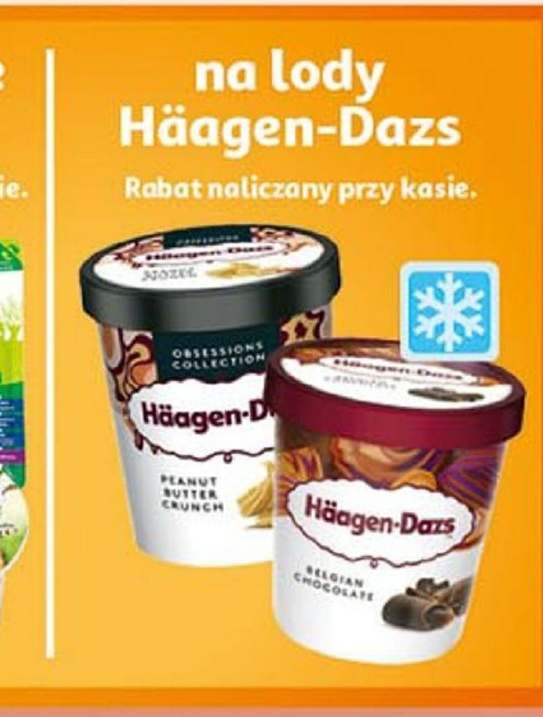 Häagen-Dazs lody wszystkie smaki Auchan